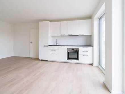 Neubau mit EBK und Balkon: Stilvolle, ansprechende 3-Zimmer-Wohnung in Wörth