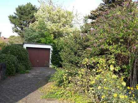 Wohngrundstück in Hastedt mit Garage und Geräteschuppen