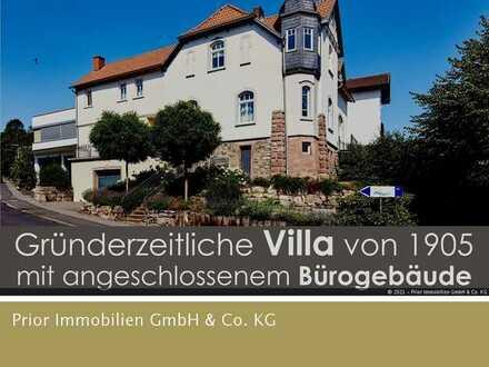 Luxus pur! Leben in schöner herrschaftlicher Villa.. mit angrenzendem Bürogebäude!