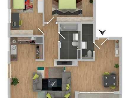 Herrliche 3-Zimmer-Dachwohnung mit Balkon! [6]