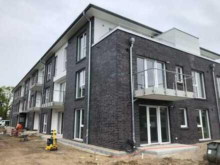 Erstbezug! Großzügige 3 Zimmer-Neubauwohnung im EG mit Terrasse