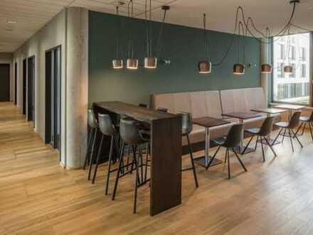 Hochwertiges Ambiente: Neubau Büro in Mannheim Q6 Q7 - Workspace - Ihre Bürolösung