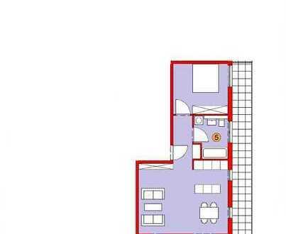 """Wohnen an der Brenz"" 2-Zimmer-Wohnung im 1. Obergeschoss"