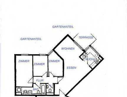 Barrierefreies Wohnen mit Gartenanteil, Terrasse, KFZ TG-Stellplatz
