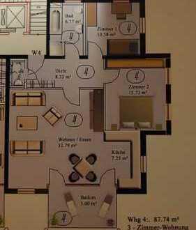 3 Zimmer Wohnung in Herrenberg