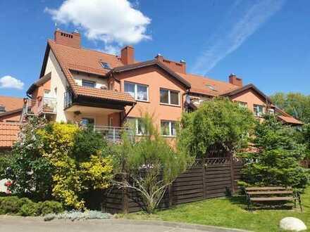 Voll eingerichtete 3,5 Zimmer Maisonette-Wohnung mit Balkon, Einbauküche, 2 Bädern, Parkett, Bj.2007