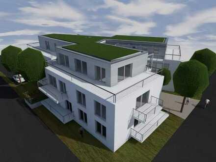 Neubau: Erstbezug mit Einbauküche und Balkon: stilvolle 3-Zimmer-Hochparterre-Wohnung in Kronach