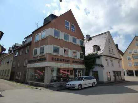 Wohn- und Geschäftshaus (3 Häuser - 1 Preis) in zentraler Lage von Memmingen