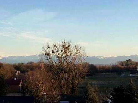 Kuschelige 2-Zimmer-Wohnung Nähe Ammersee mit Bergblick