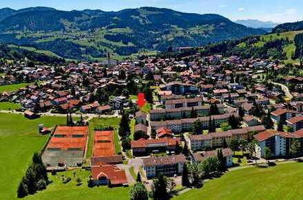 3-Zi.-Wohnung in Oberstaufen