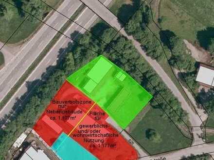 Großweil OT Zell: Gewerbegrundstück mit bestehender Hofstelle