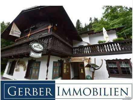 Traditions Landgasthaus Schweizerhaus in Alleinlage