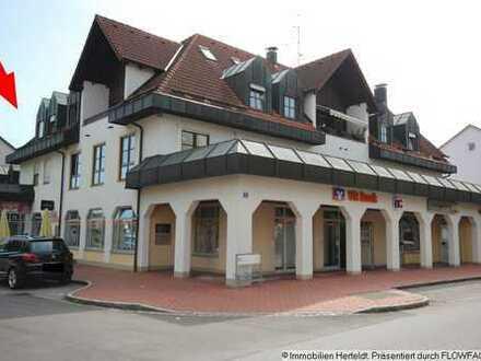 Schicke Gastronomie mit 4-ZKB-Maisonette-Wohnung und Atelier