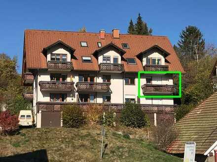 Wunderschöne 2-Zimmer-Wohnung mit 2 Balkonen und Garage in Lenzkirch