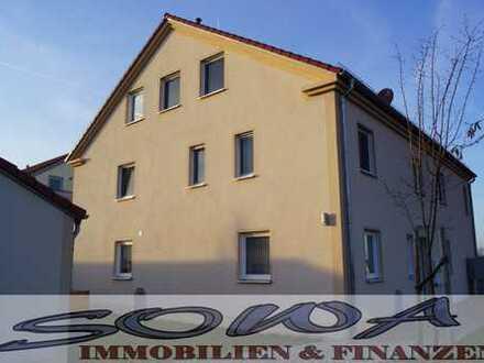 Helle, moderne 3 Zimmer – Neubau – Wohnung im EG mit Terrasse , großem Garten, Garage & KFZ -Stpl.