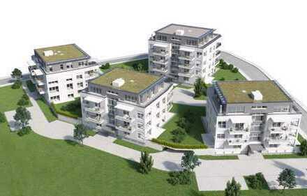 Erstbezug: Komfortable Wohnung in neuer Stadtrandvilla