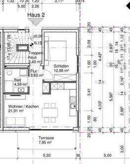 Erstbezug mit Einbauküche und Süd Balkon: exklusive 2-Zimmer-Erdgeschosswohnung in München/Am Hart