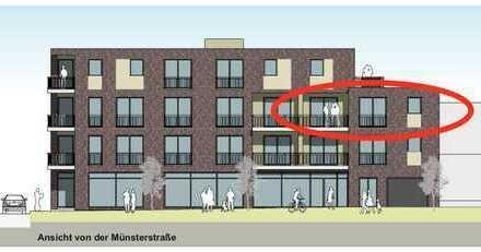 ERSTBEZUG im NEUBAU mit Balkon: gehobene barrierefreie 2-Zimmer-Wohnung in Lengerich