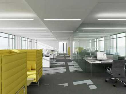 Extravagante, klimatisierte Dachgeschossfläche mit privater Dachterrasse und Weitblick !