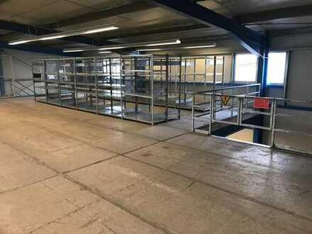 Lager - abgetrennte Fläche im OG zu vermieten 550 qm
