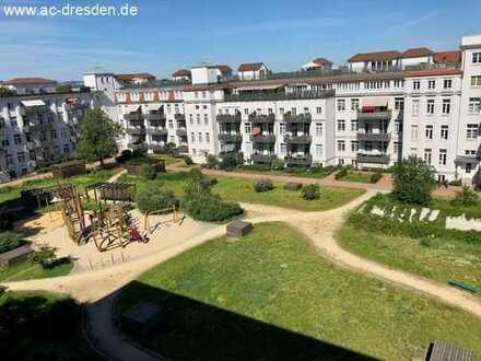 Helle 3-Raum-Eigentums-Wohnung (vermietet) in Striesen-Ost WE 063-225