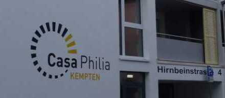 Schöne 2- Zi.- Wohnung in Kempten - selbstbestimmtes Leben im Alter bis hin zur Vollzeitpflege