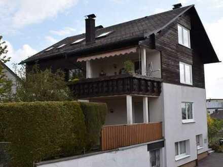 Helle 5 Zimmerwohnung in Marktredwitz mit Terrasse und Balkon