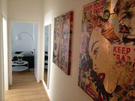 Stilvolle, vollmöblierte 1-Zimmer-Wohnung mit Küche und Bad im Zentrum von Münster