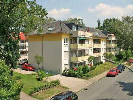 barrierefreie Seniorenwohnung (WE 21) mit Balkon (Ü 60+) WBS erforderlich (für 1 Person)
