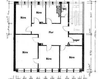 Ideal als Praxis, Kanzlei oder Büro - nahe Schlossplatz und Altstadt - 6 Zimmer - ohne Makler