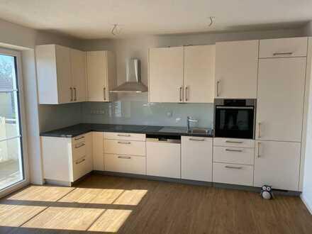 Erstbezug: bezaubernde 3-Zimmer-Wohnung mit hochwertiger Küche und Balkon in Hausen bei Geltendorf