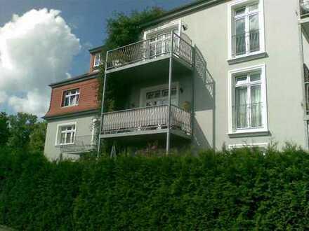 2 Zimmerwohnung mit Balkon unweit des Straussees