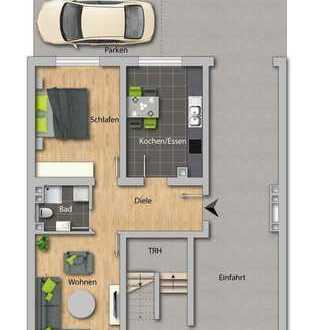 ERSTBEZUG nach Kernsanierung - 2 Zimmer-Wohnung im Ortskern von Mannheim-Lindenhof