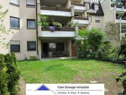Manosquer-Gebiet: Maisonettewohnung (EG + UG) mit Terrasse, Garten, 2 Bäder + Garage