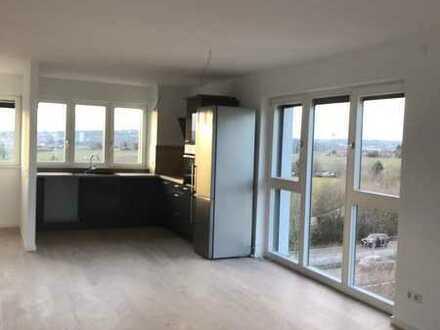 Betreutes Wohnen Erstbezug mit EBK und Balkon: exklusive 2-Zimmer-Wohnung in Kornwestheim