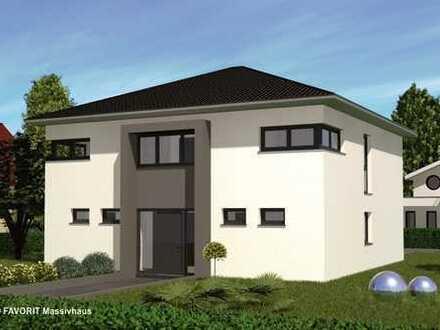 FAVORIT Massivhaus Citylife 178 - Massivhaus Stadtvilla Neubau
