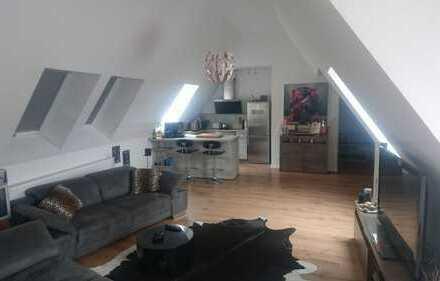 Helle 3-Zimmer-Wohnung mit Loft-Charakter