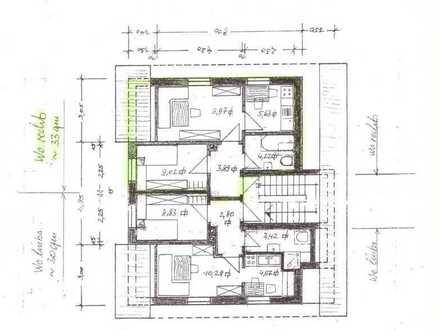 Vollständig renovierte 2-Zimmer-Dachgeschosswohnung mit EBK in Ingolstadt