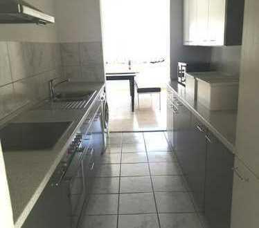 Gepflegte 4-Raum-Wohnung mit Balkon und Terrasse und Einbauküche in Heilbronn