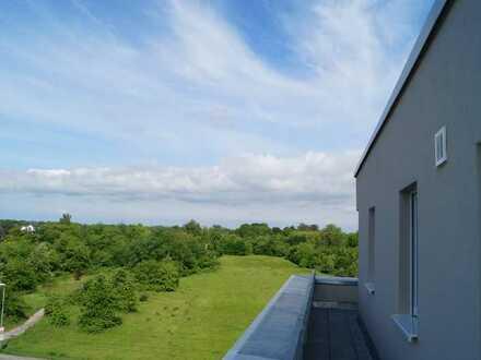 Für Anspruchsvolle : exklusive Penthousewohnung mit Tiefgarage und Dachterrasse in Rheinstetten
