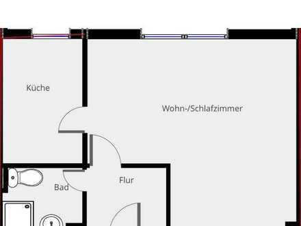 Erstbezug nach Sanierung: 1-Zimmer Souterrain-Wohnung in idealer Lage