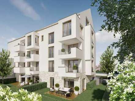 3-Zimmerwohnung mit idyllischem Gartenanteil in urbaner Lage
