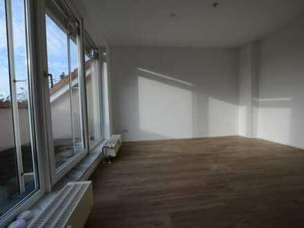 """""""Schöne zwei - Zimmer - Wohnung mit kleiner Dachterrasse und Fernblick über die Bergstraße!"""""""