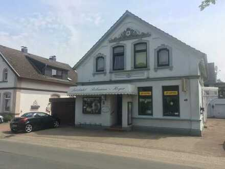 Wohn- und Geschäftshaus/Friseursalon zu verkaufen/verpachten