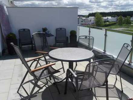 Exclusive Traumwohnung mit Superausblick, Sonnenterrasse und separatem Balkon!