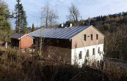 Der eigene Wald vor der Tür! Haus unweit von Oberwiesenthal!