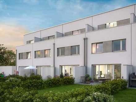 Wohnen Am Hühnerstein: Modernes Reiheneckhaus mit Garten und Dachterrasse
