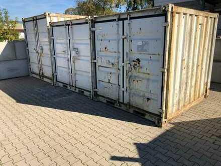 Vermietung eines Seecontainer, Lagercontainer, Container (incl. Stellplatz)