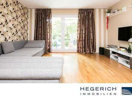 HEGERICH: Neubau zum Loswohnen - 3-Zimmer-Terrassenwohnung im Grünen