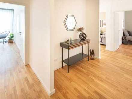 Durchdachter Grundriss mit hellen Räumen und eine hochwertige Ausstattung - Ihre 4-Zimmer-Wohnung!